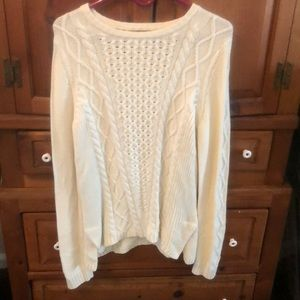 Beautiful white sweater